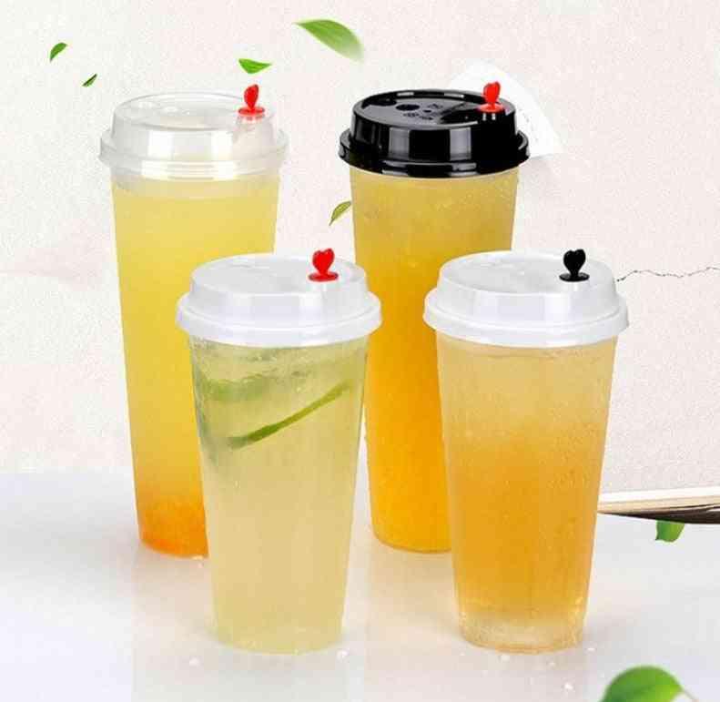 Transparent Bubble Tea Cup