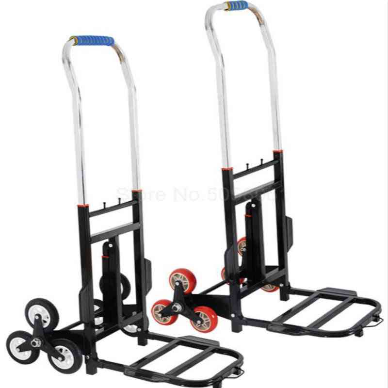 Climbing Stairs Trolley, Heavy King Portable Shopping Handling Trailer