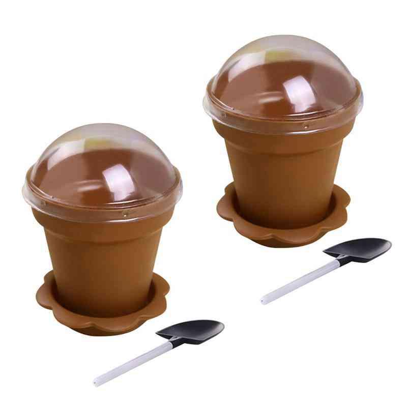Amazing Multifonction Disposable Flowerpot Cake Cups