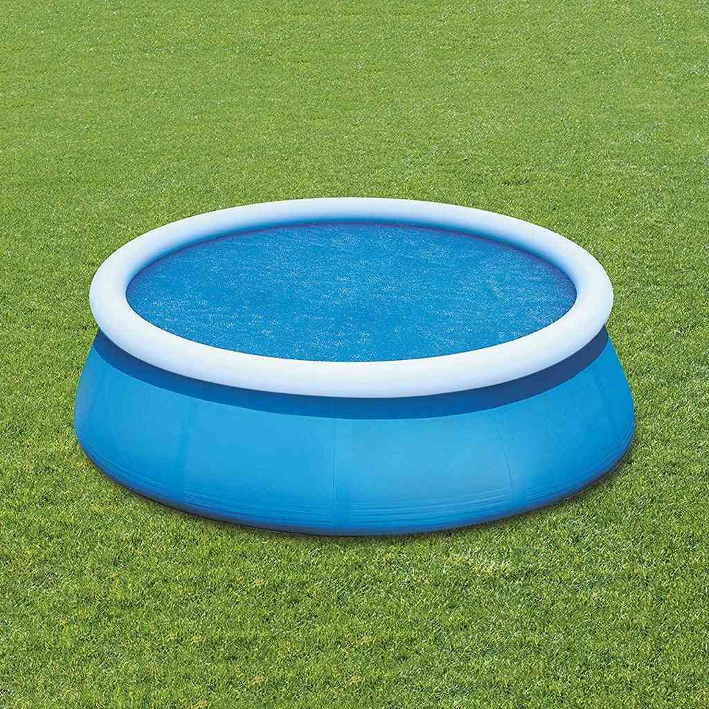Round Swimming Pool Cover, Protector - 12ft Above Ground, Blue