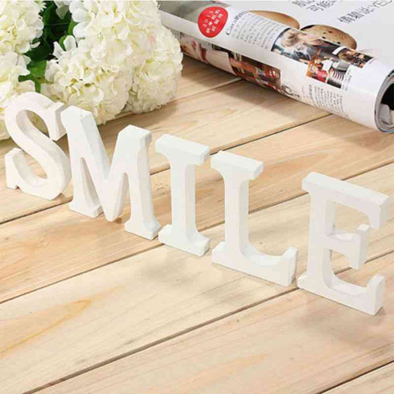 Diy Wooden Letters Alphabet For Party And Home Decor