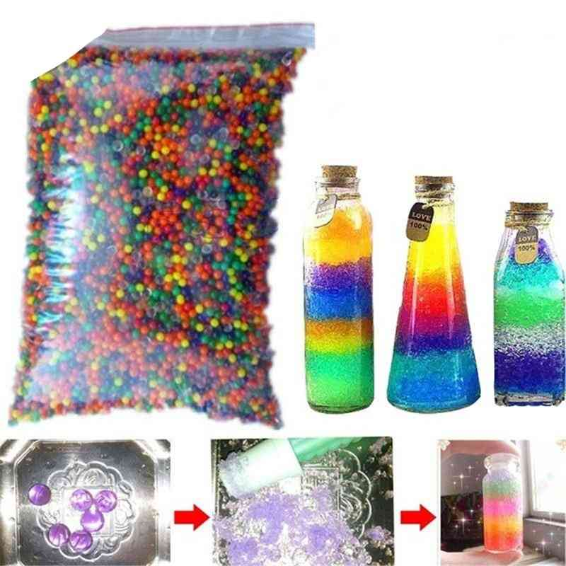 Hydrogel Pearl Shaped Crystal Beads -1000pcs Growing Water Balls