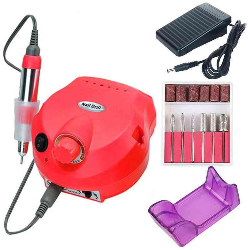 Electric Nail Drill Machine - Manicure, Pedicure Sanding Equipment