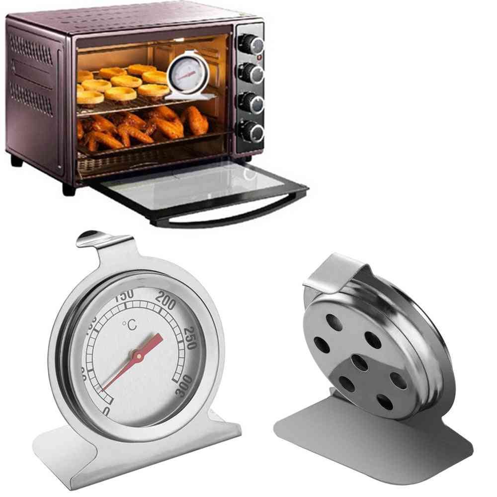 Stainless Steel Temperature Gauge Mini Grill Kitchen Thermometer