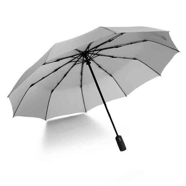 Ten Bone Automatic Folding Parasol- Umbrella