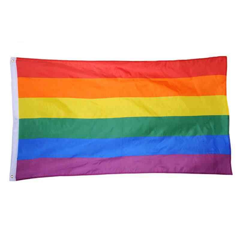 Lgbt Pride Flag - Colorful Rainbowflag For Gay