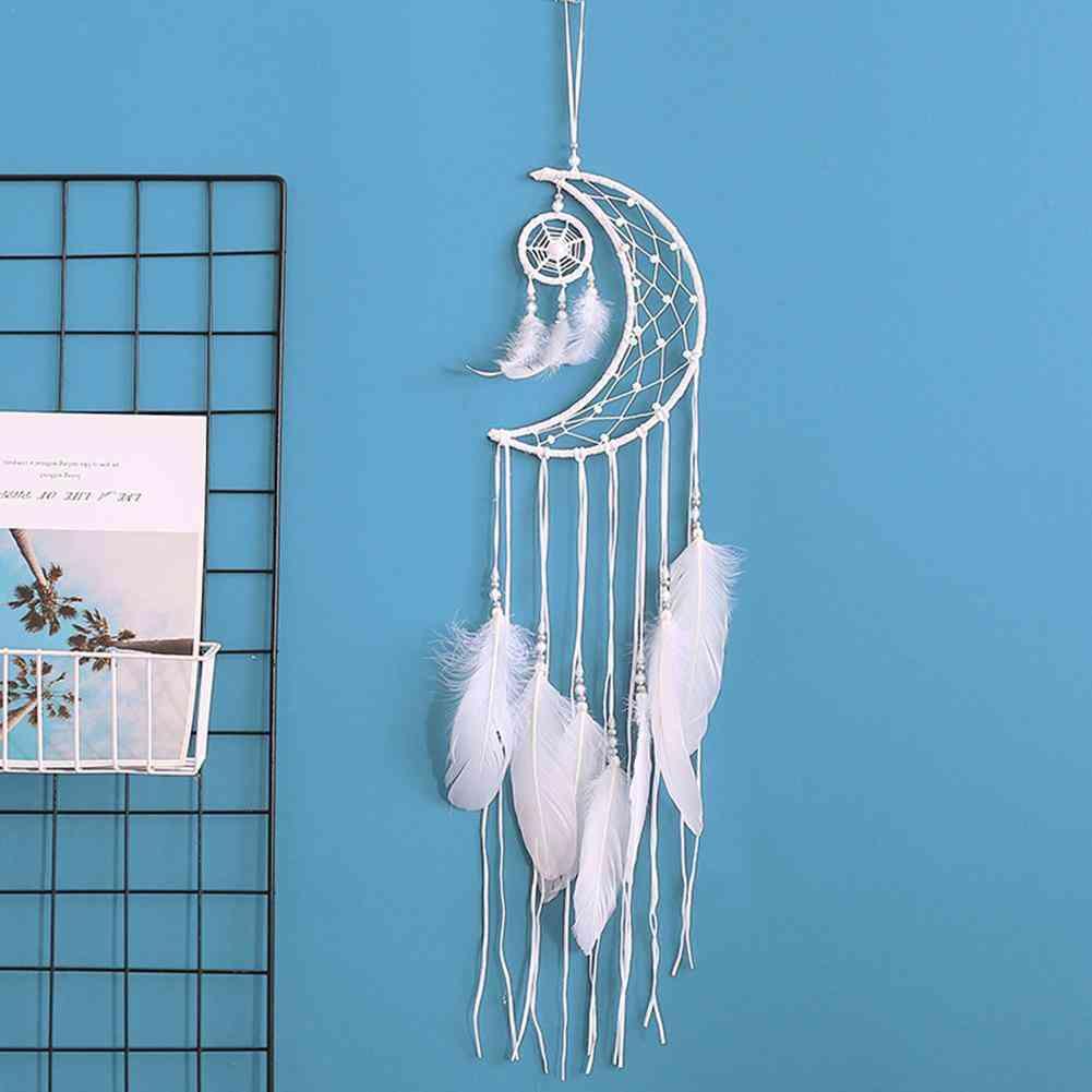 Moon Dream Catcher - Hanging Room Decor