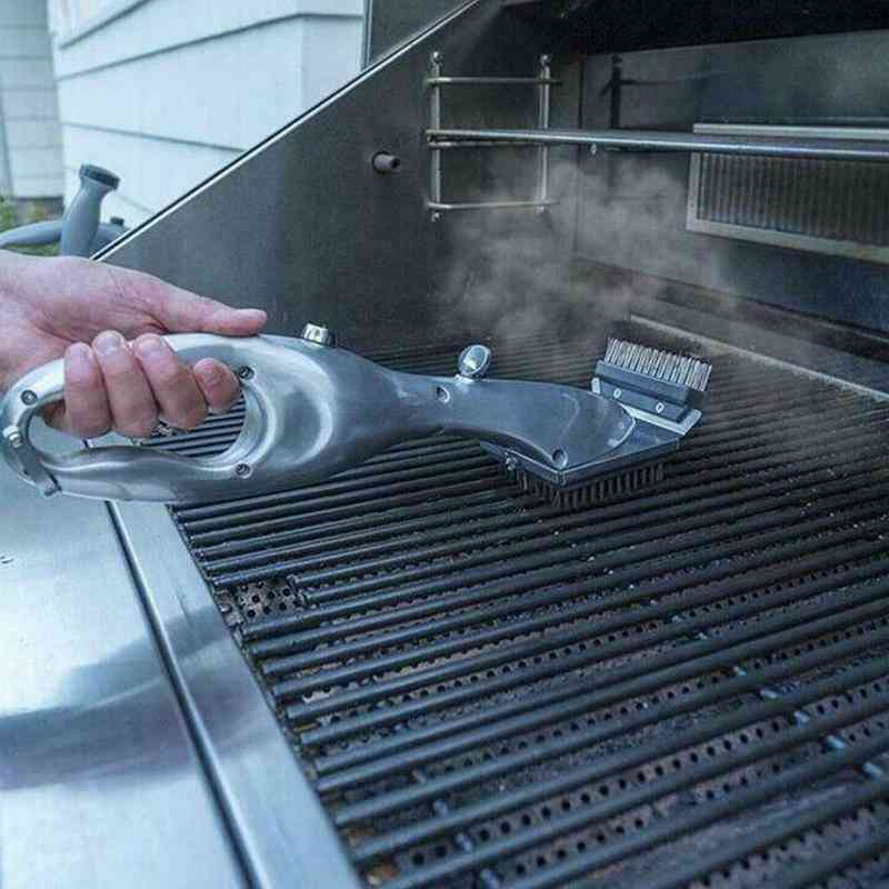 Daddy Steam Cleaning Barbeque Grill Brush