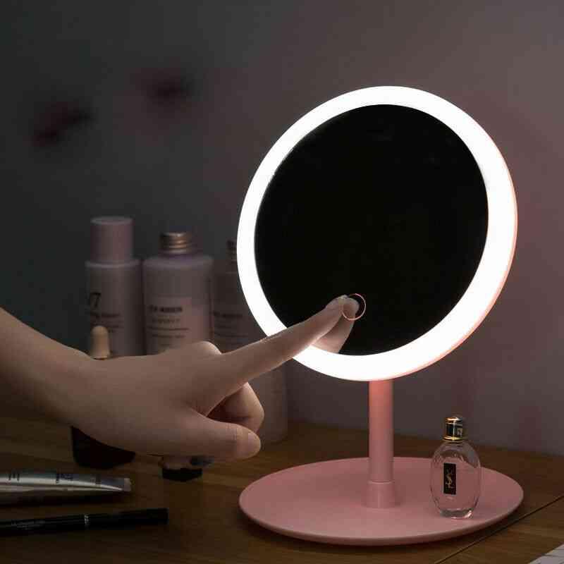 Led Magnifying Makeup Mirror - Compact Usb Vanity Mirror