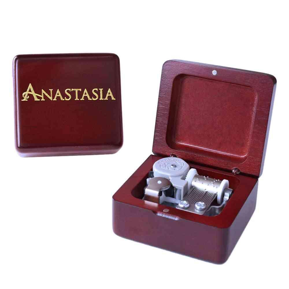 Anastasia Handmade Wooden Music Box