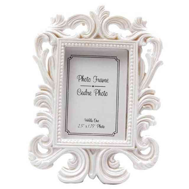 Beautiful Ornate Style Photo Frame - Retro Photo Frame For Wedding Party Home Decor