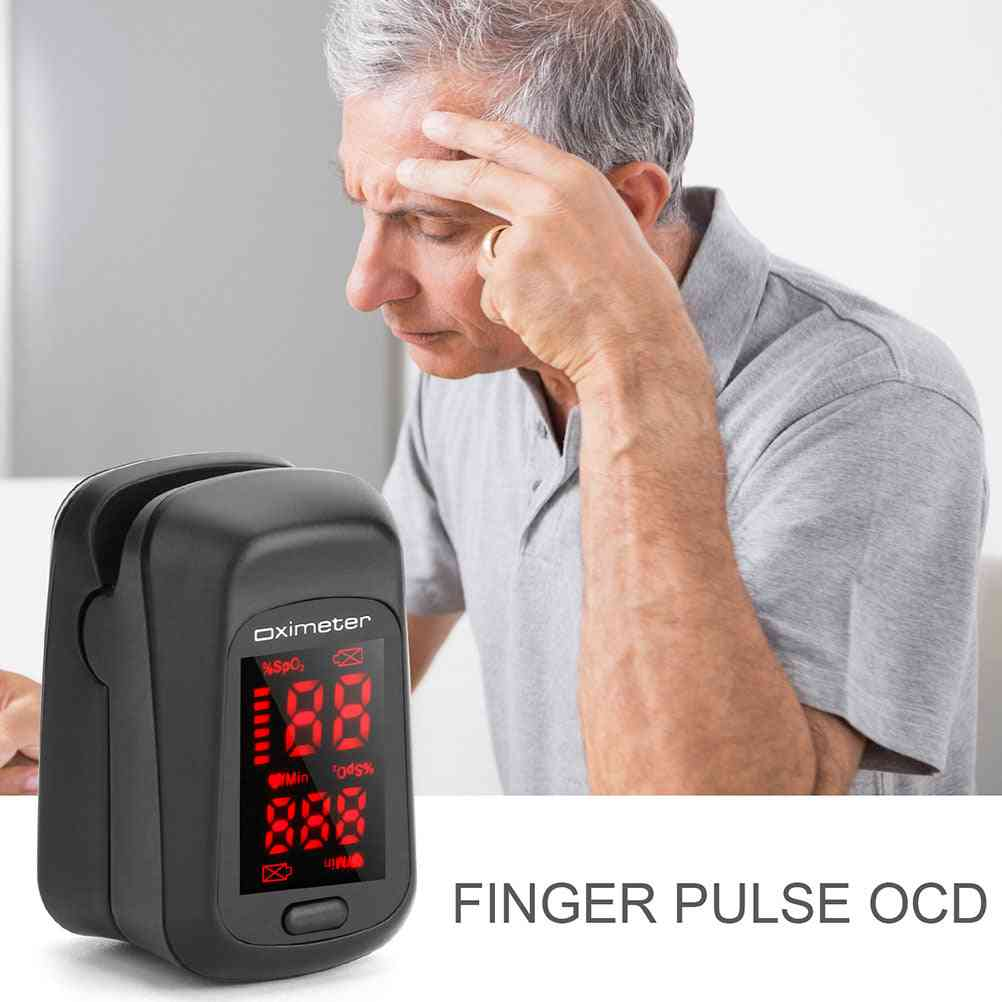 Portable Fingertip Pulse, Blood Pressure Pulse, Heart Rate Monitor Without Battery