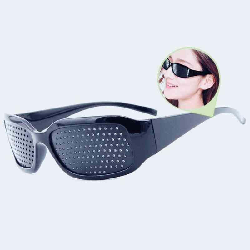 Eye Training Glass Pinhole Glasses - Camping Unisex Eyeglasses Used For Exercise Outdoor To Improve Eyesight