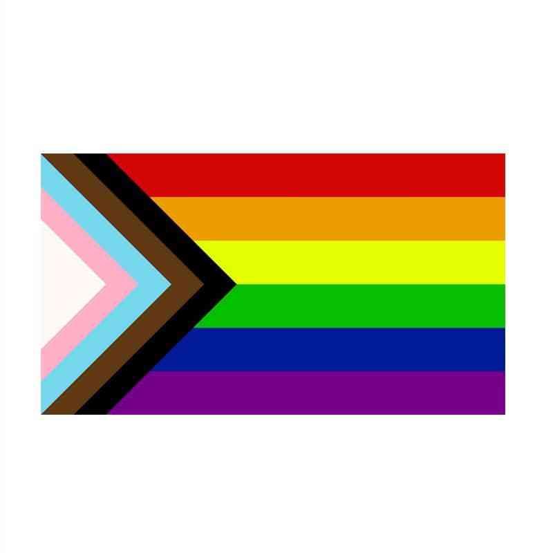 Lgbt Gay Rainbow Progress Pride Flag