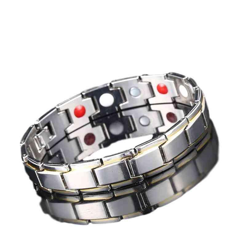 Men Women Energy Healing Bracelet - Health Care Jewelry Bracelets Bangle Slimming