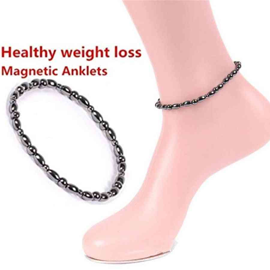 Anklet Bracelet Slimming Weight Loss Anti Cellulite Women Body Health Care