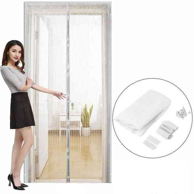 Summer Anti Insect Magnetic Net Mesh Automatic Closing Door Screen Curtain - Anti Mosquito Curtain