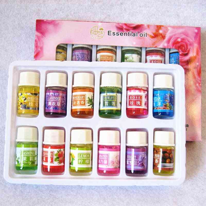 Pure Essential Oils For Aromatherapy Diffusers - Lavender ,tea Tree ,lemongrass, Orange, Rosemary Oil