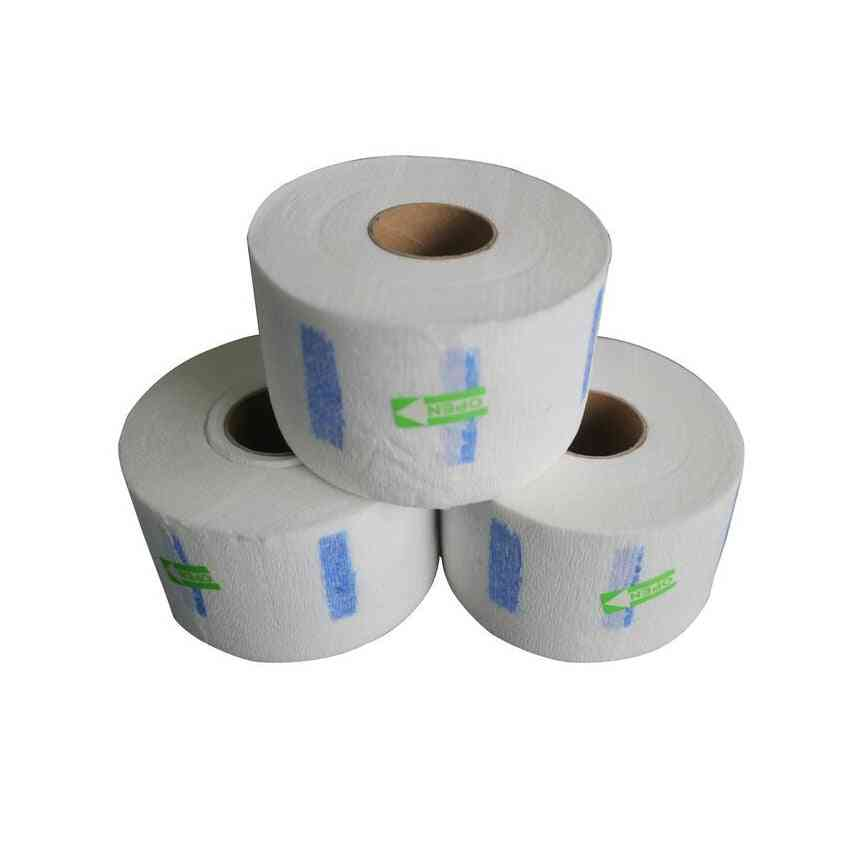 Small Roll Hair Salon Neck Paper - Barber Hair Cut Anti Dust Paper For Protecting Neck
