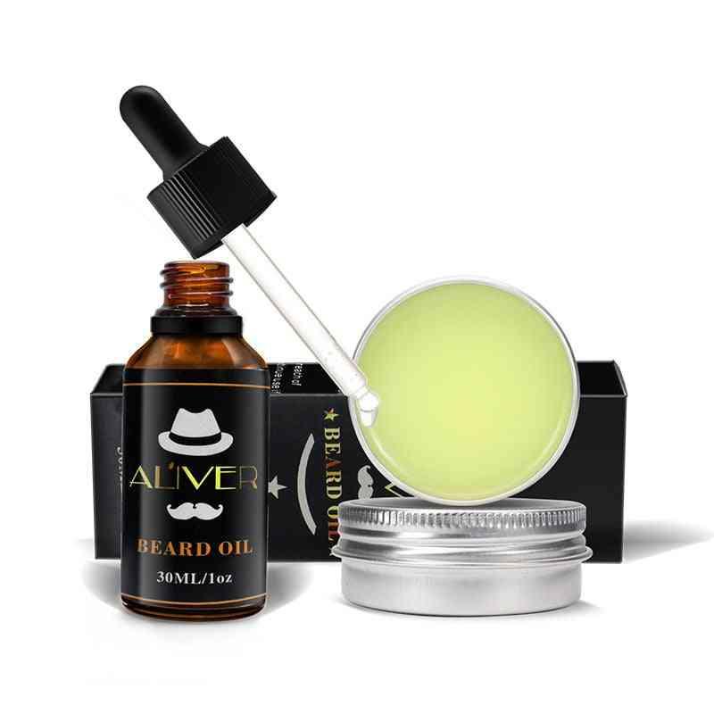 New Beard Balm Natural Oil Conditioner - Beard Care Mustache Wax Men Helps In Mustache Grooming