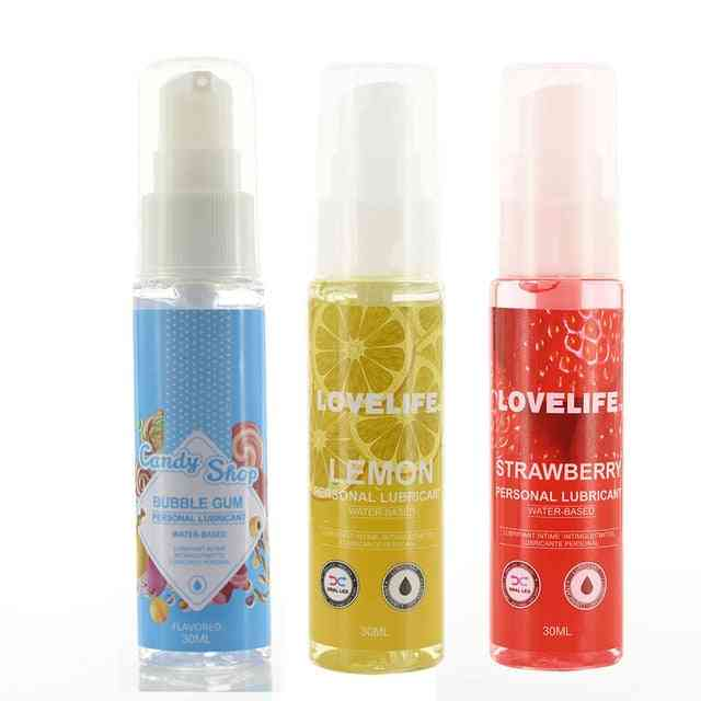 Fruity Aroma Edible Lubricant For Oral Sex