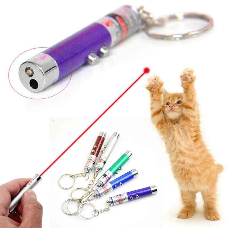 Funny Pet Led Laser Light Toy, Red Dot Pointer Interactive Pen For Cats