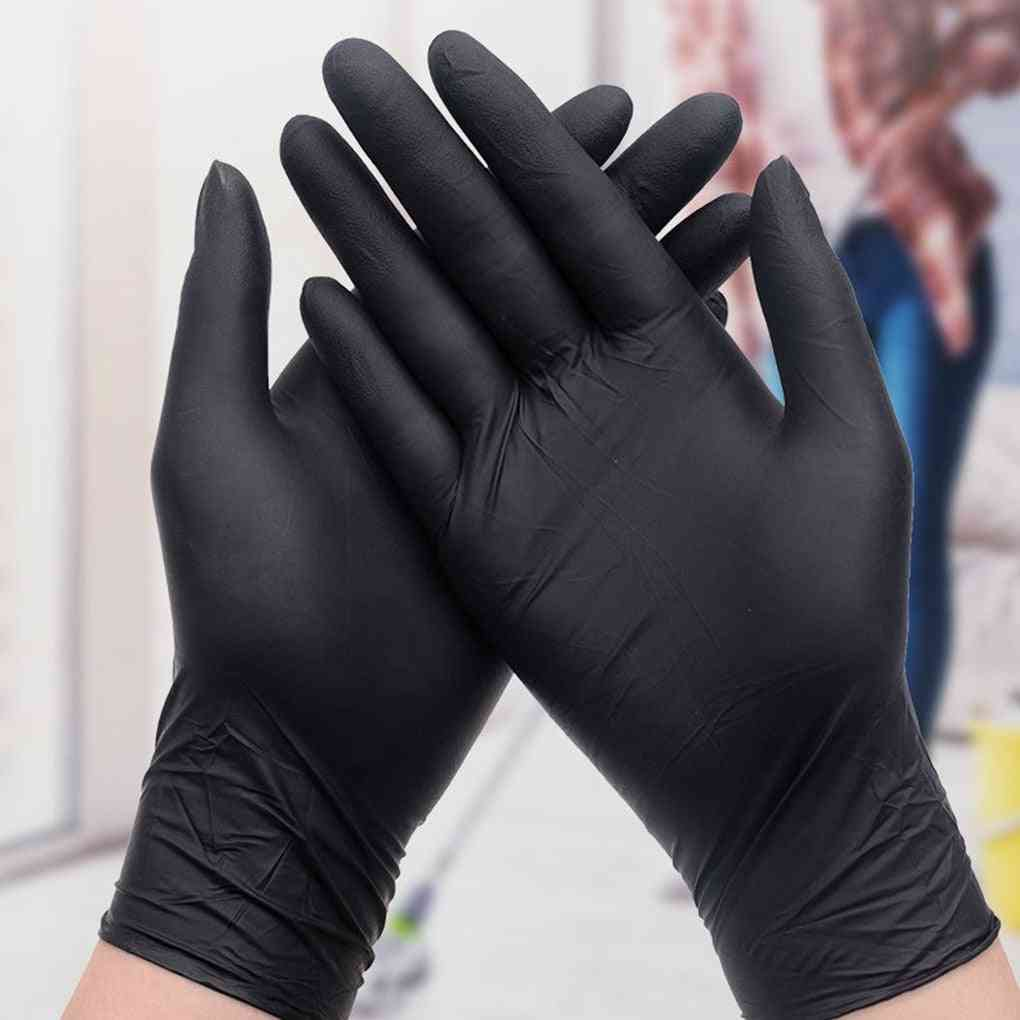 Transparent Disposable Pvc Dishwashing/kitchen /latex/rubber/garden Household Gloves, Universal For Home Cleaning