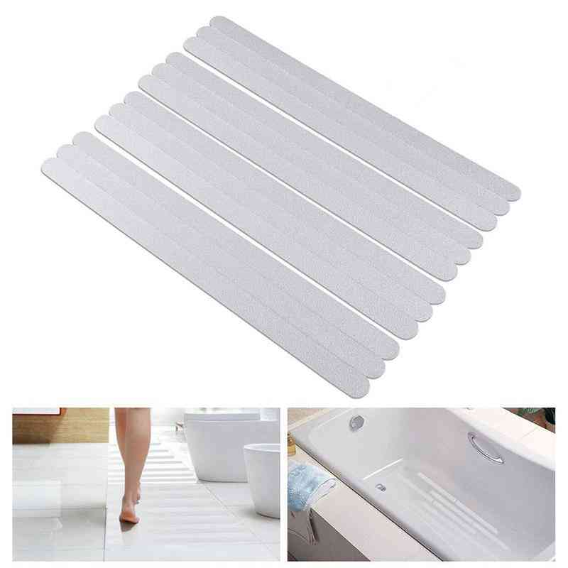 Bath Safety Anti Slip Strips Shower Stickers - Transparent Non-stickers For Bathtubs Showers Stairs