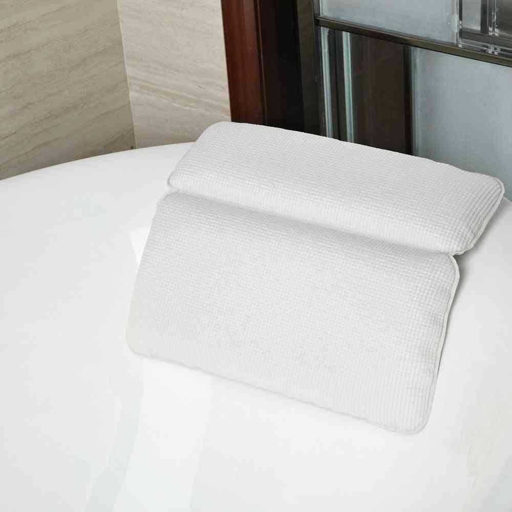 Waterproof Spa Panel Design Neck Support Headrest Bath Cushion - Bathtub Pillows For Spa