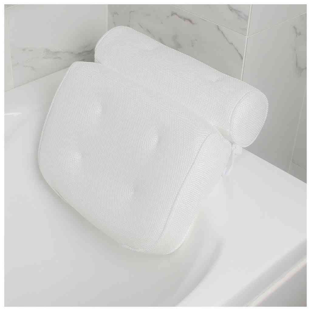Non Slip Large Suction Cups For Head Rest Cushioned Bathtub Pillow