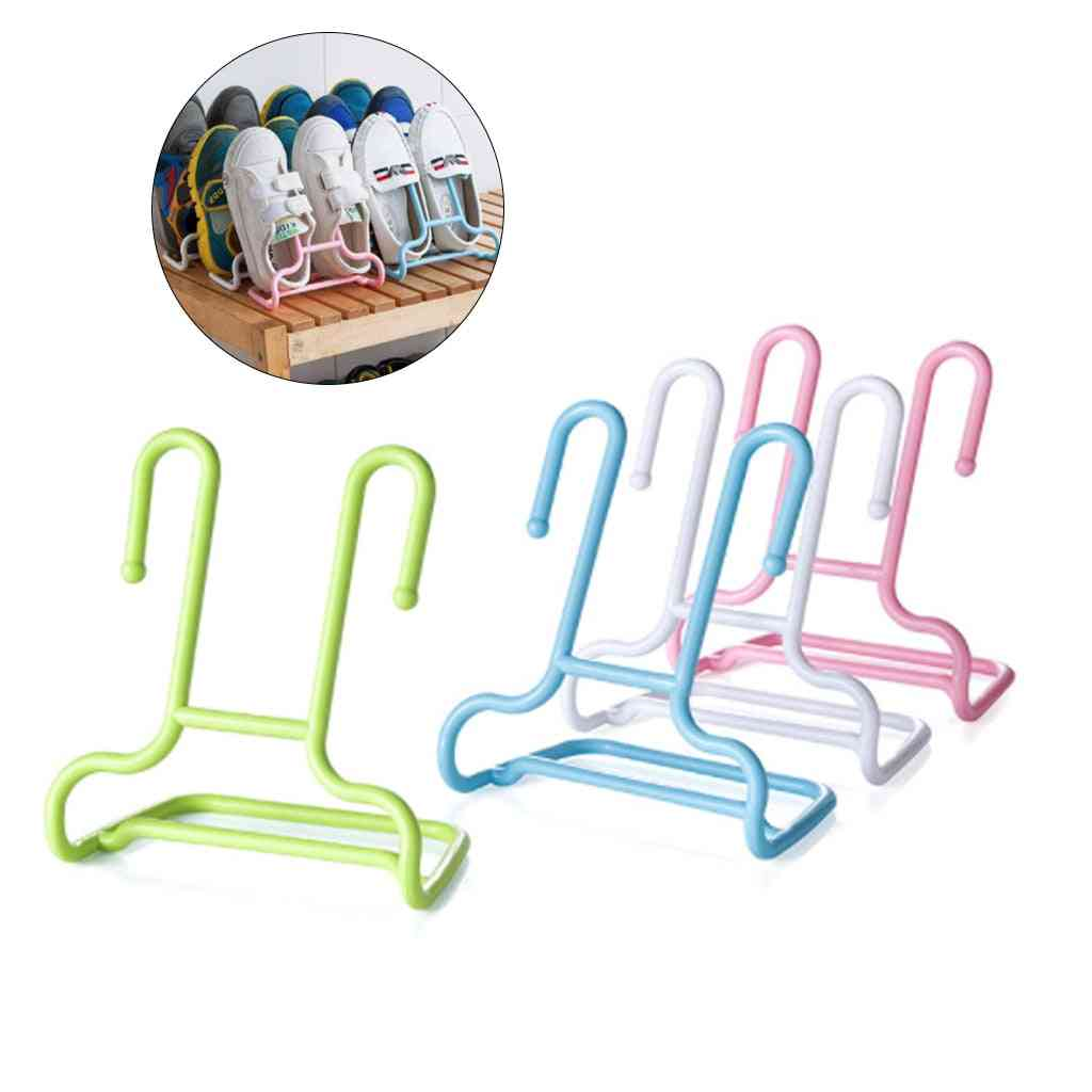 Multi-function Shelf Drying Shoe Storage Rack Stand Hanger - Shoes Wardrobe Organizer