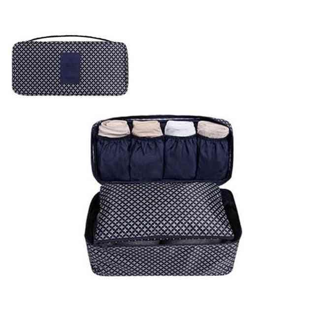 Multifunctional Toiletry Organizer Underwear Bra Storage Bag