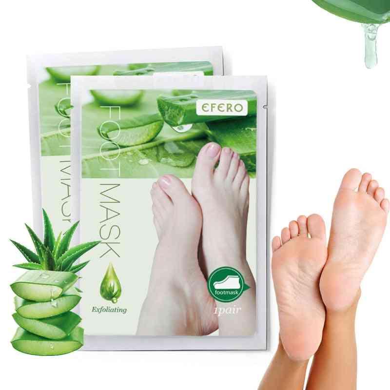 Exfoliating Baby Care Pedicure Socks Remove Dead Skin Heels Foot Peeling Mask