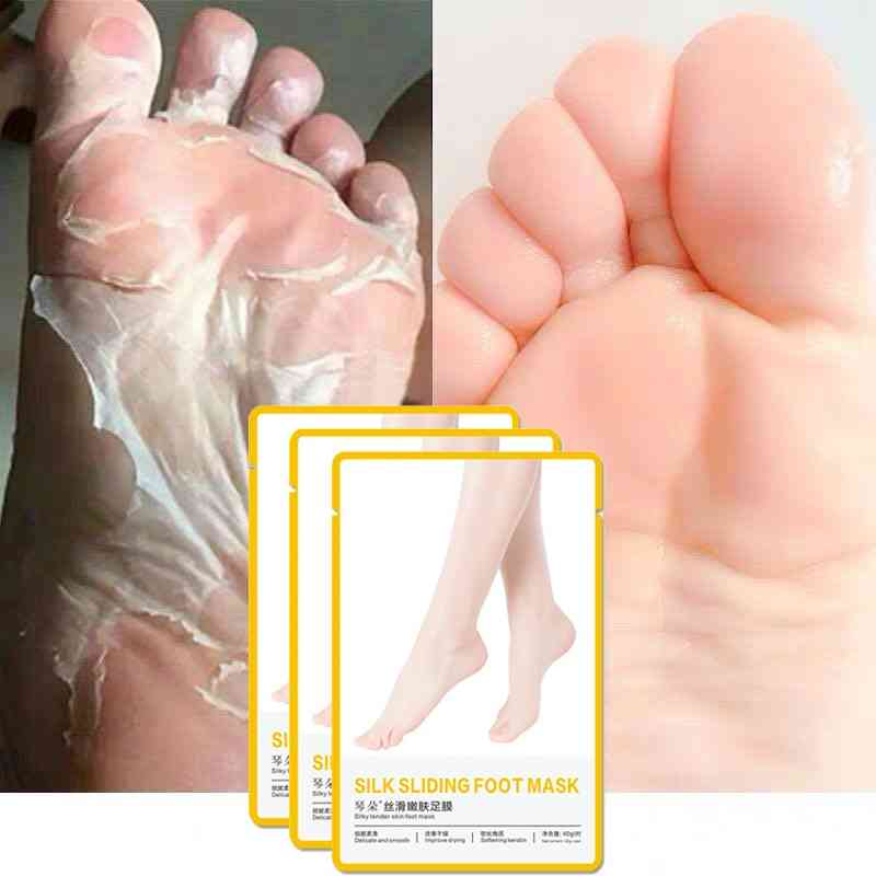 Foot Exfoliating  Pedicure Socks Mask Leg Dead Skin Heel Foot Mask