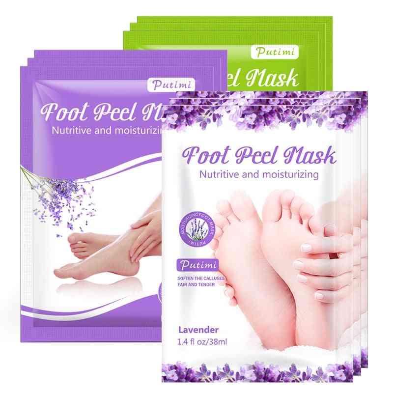 Exfoliating Foot Spa Bath Mask Peeling Scrub Pedicure Foot Patch Moisturizer Dead Skin Remover