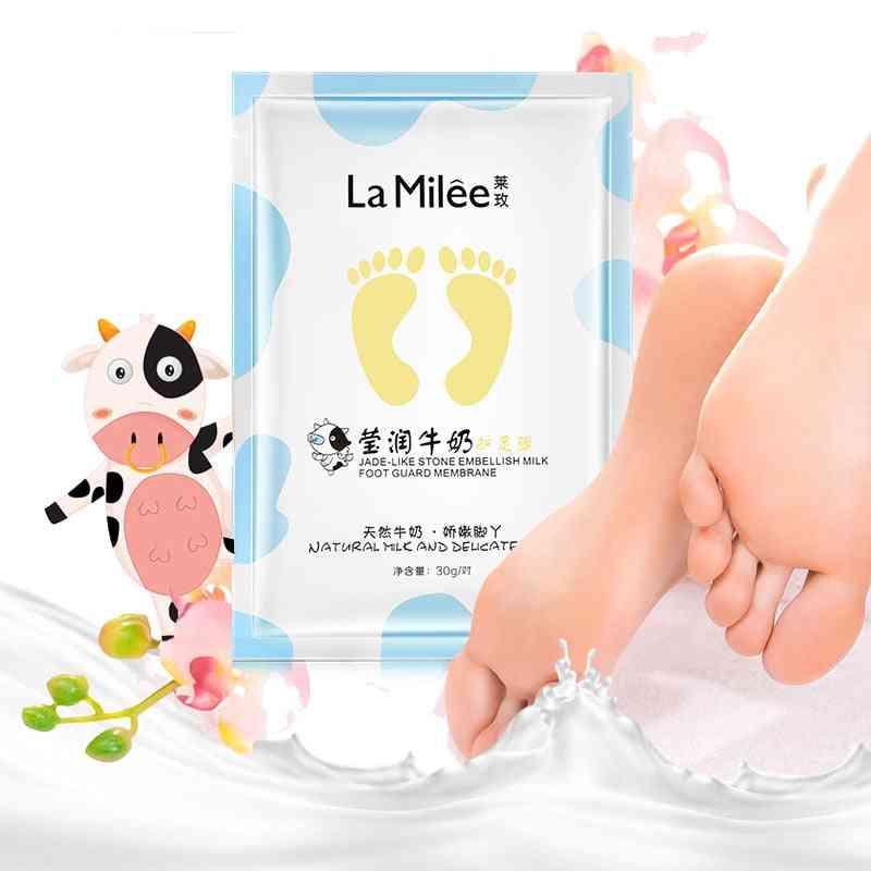 Exfoliation Milk Moisturizing Foot Mask Dead Skin Removal Foot Detox For Foot Care