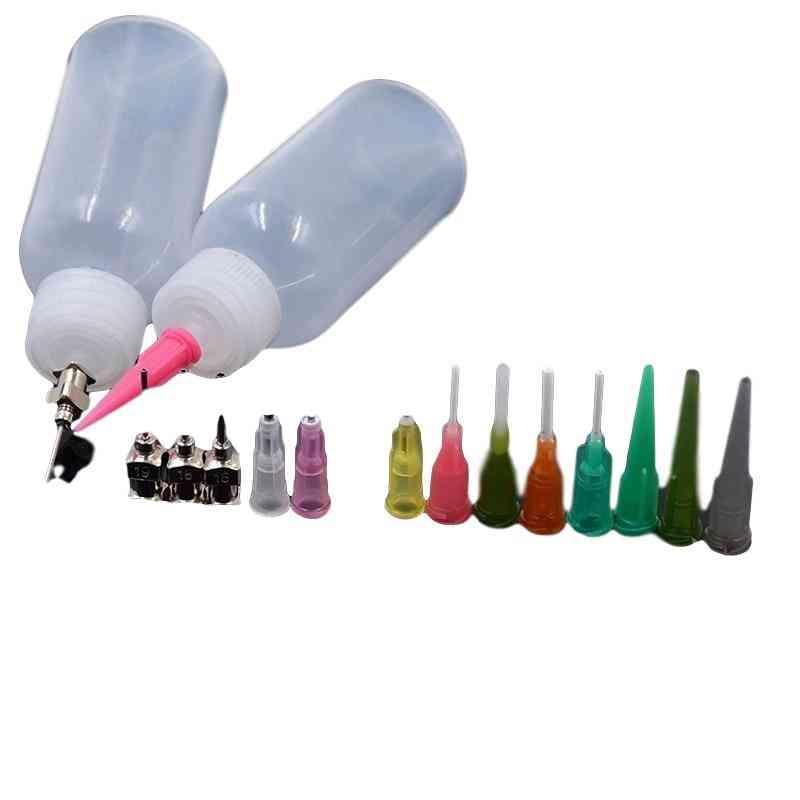 Plastic Bottle Set Professional Nozzle Drawing Bottle Tattoo Making Tool