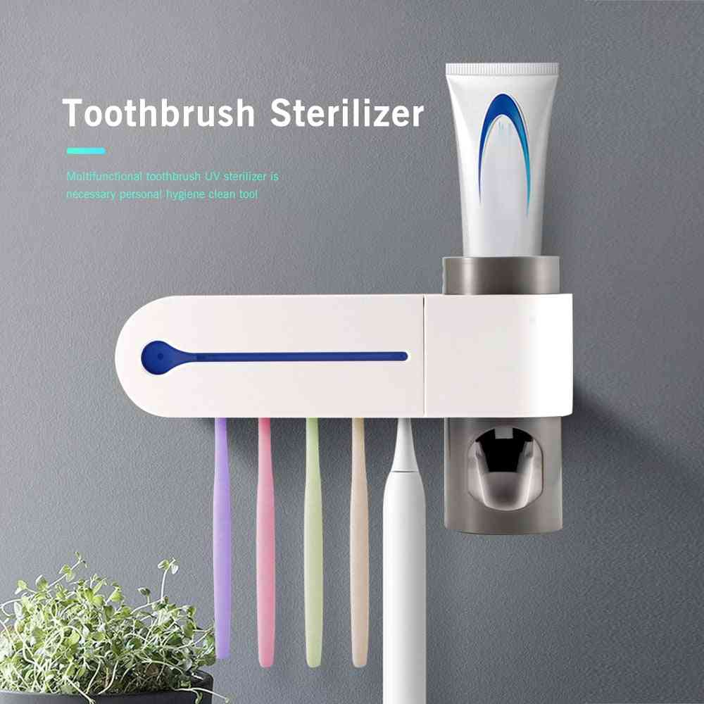 Toothbrush & Toothpaste Holders