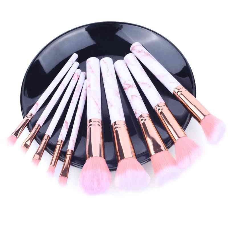 Makeup Cosmetics, Brushes Kits For Highlighter Eye Cosmetic, Powder Foundation