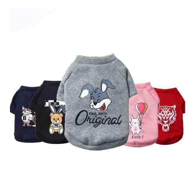 Cartoon Style Winter Small, Medium, Large Pet Dogs Sweatshirt