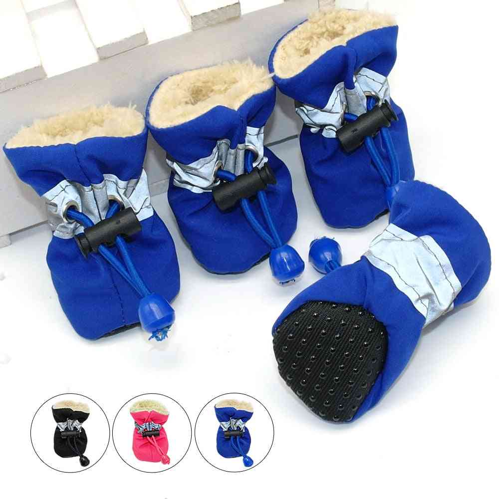 Waterproof Anti Skid Pet Dog Protection Soft Soled Shoes For Summer/winter