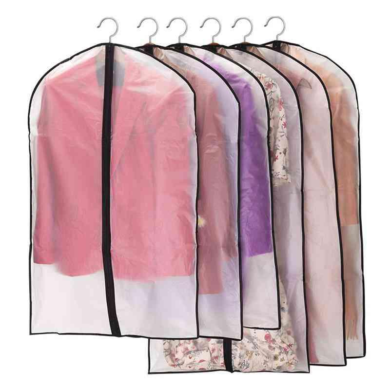 Dustproof Cloth Cover Bags - Transparent Wardrobe Storage Bag
