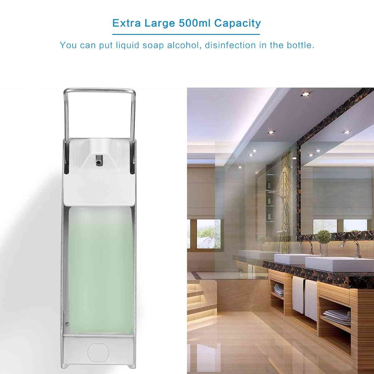 Wall Mount Soap, Sanitizer, Lotion Dispenser With Manual Pump For Bathrooms And Hospitals
