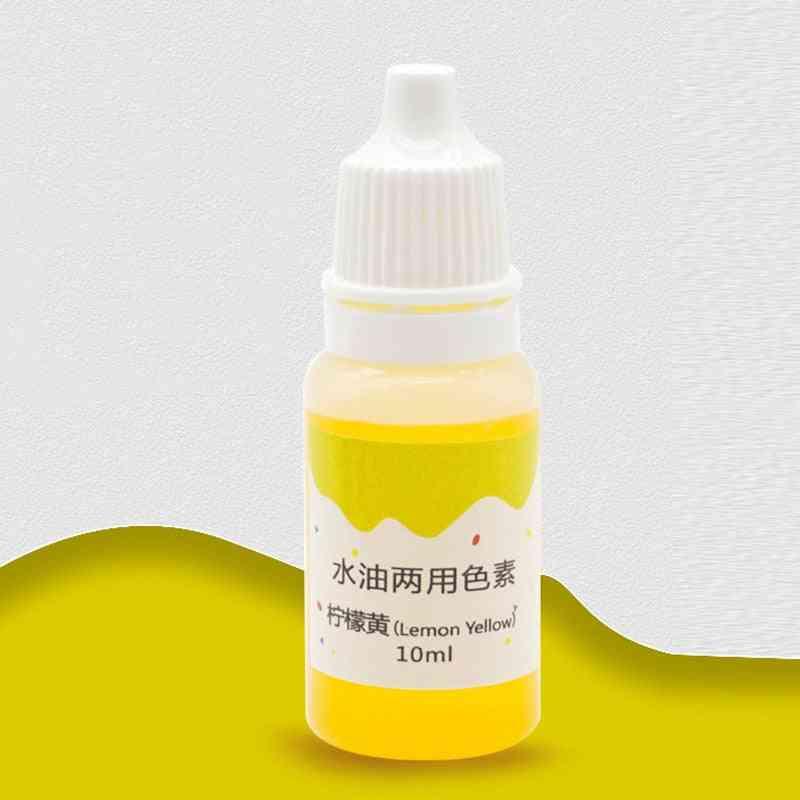 Handmade Soap Tie Dye Pigments - Safe And Non-toxic Base Color Liquid Pigment