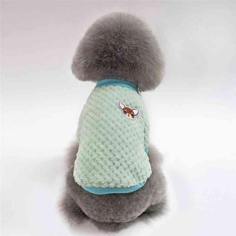 Cartoon Hoodie, Coat, Coat Winter Clothes For Ropa, Perro, French Bulldog Pet