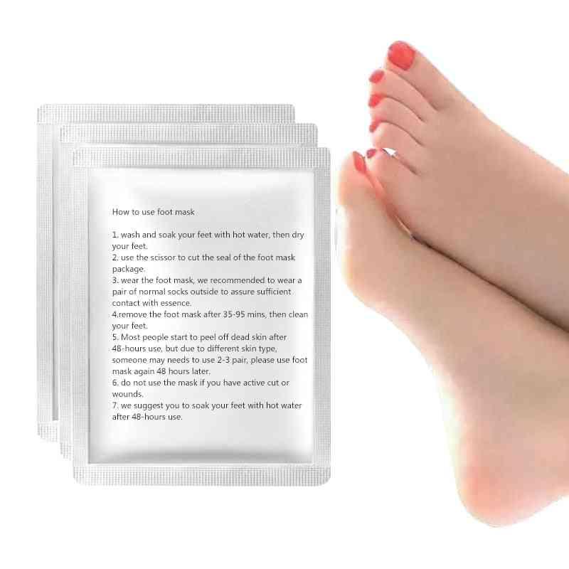 Exfoliating Pedicure Socks - Remove Dead Skin, Cuticles Suso