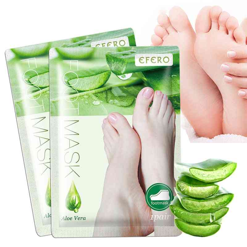 Feet Mask Exfoliating Socks For Pedicure, Anti Crack, Dead Skin Removal