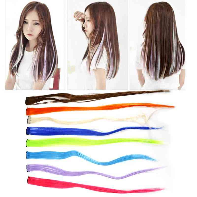 Long Straight Hair Wig Extension Piece - Hair Extensions Accessories
