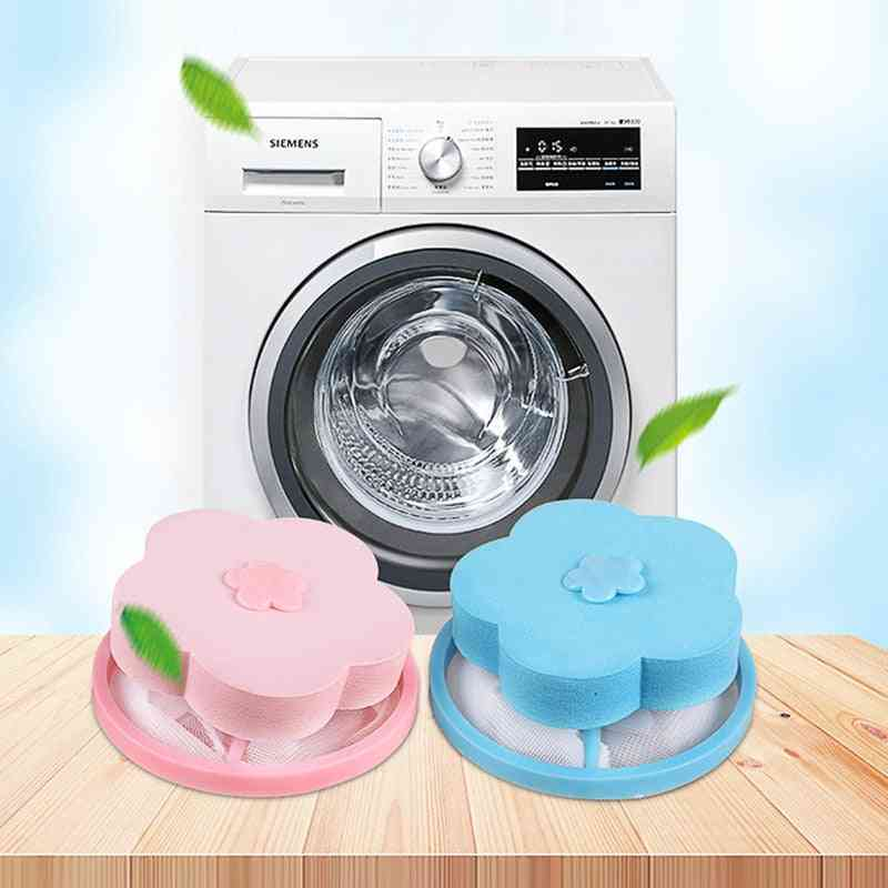 Reusable Laundry Hair Removal Catcher - Floating Pet Fur Catcher And Cleaning Balls