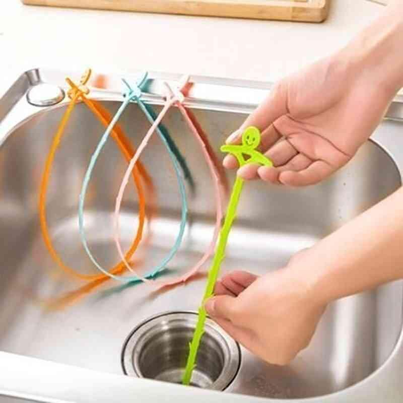 Kitchen, Bathroom Sink Pipe Drain Cleaner